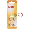 Kodak Hearing Aid Batteries P13 Orange x 20 (5x 4 Pack)