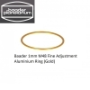 Baader 1mm M48 Fine Adjustment Aluminium Ring (Gold)