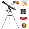 Celestron AstroMaster 80EQ-MD Refractor Telescope with Motor Drive