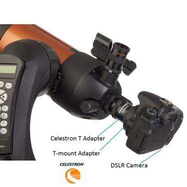 Celestron T Adapter For Nexstar 4 and C90 Spotting Scopes