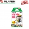 Fujifilm Instax Mini Credit Card Size Glossy Photo Film 10 Pack x 2