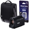 Canon Legria HF R806 Camcorder Kit inc 16GB SD Card and Case - Black