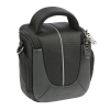 Dorr Yuma Photo Bag - Small Black and Silver
