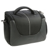 Dorr Yuma Photo Shoulder Bag - Large Black and Silver