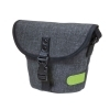 Dorr City Basic Shoulder Photo Bag - Small Grey/Lime
