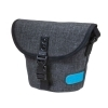 Dorr City Basic Shoulder Photo Bag - Small Grey/Blue