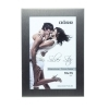 Dorr 8x6-Inch Silverstar Lucca Steel Photo Frame