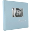 Dorr Baby Blue Traditional Photo Album - 60 Sides
