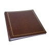 Dorr Classic Large Brown Traditional Photo Album - 100 Sides