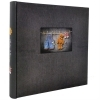 Dorr Love Black Traditional Photo Album - 100 Sides