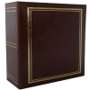Dorr Classic Brown 6x4 Slip In Photo Album - 200 Photos