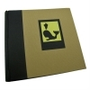 Dorr Green Earth Black Whale 6x4 Slip In Photo Album - 200 Photos