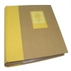 Dorr Green Earth Yellow Flower 7x5 Slip In Photo Album - 200 Photos