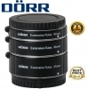 Dorr Extension Tube Kit (10, 16, 21mm) For Fujifilm X