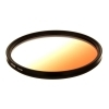 Dorr 72mm Orange Graduated Colour Filter