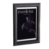 Dorr Guidi Glossy Black Wooden 8x6 Photo Frame
