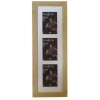 Dorr Driftwood Light Brown 6x4 Triple Photo Frame