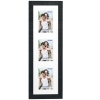 Dorr Indiana Vertical Black Gallery Frame for 3 6x4 Photos