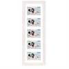 Dorr Indiana Horizontal White Gallery Frame for 5 6x4 Photos