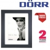 Dorr Bloc Black 7x5 inch Wood Photo Frame with 5x3.5 inch insert