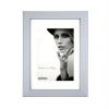 Dorr Bloc Silver 7x5 inch Wood Photo Frame with 5x3.5 inch insert