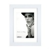 Dorr Bloc White 8x6 inch Wood Photo Frame with 6x4 inch insert