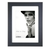 Dorr Bloc Black 9x7 inch Wood Photo Frame with 7x5 inch insert