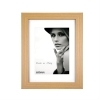Dorr Bloc Natural 9x7 inch Wood Photo Frame with 7x5 inch insert