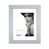 Dorr Bloc Silver 12x8 inch Wood Photo Frame with an 8x6 inch insert