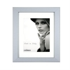 Dorr Bloc Silver 16x12 inches Wood Photo Frame with 12x8 inch insert