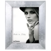 Dorr Milo Silver Effect Wooden 8x6 Photo Frame