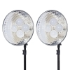 Dorr DL-400 LED Continuous Lighting Kit 8 x 10 Watt LED Bulbs