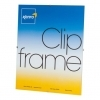 Kenro 12x15.75-Inch Glass Fronted Clip Frame