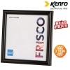 Kenro 5x5-Inch Frisco Photo Square Frame - Black