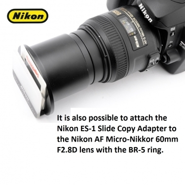 Nikon ES-1 52mm Slide Copy Adapter