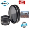 OVL 2 Inch Inch Variable Polarising Filter