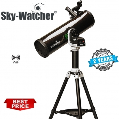 SkyWatcher Explorer-130PS F5 WiFi Go-To Parabolic Newtonian Telescope