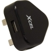 Xcel HD UK Plug/USB Power Adaptor